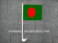 car mirror flag for Bengal