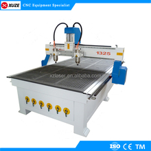 jinan hot sale !!! high precision XZ-1325 wood cnc router with vacuum table