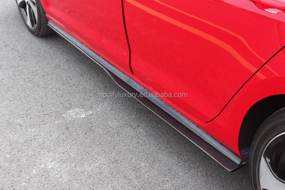 ML Estilo Saias Laterais para VW Golf VII Golf7 GTI Fibra De Carbono GTI
