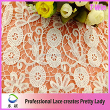 New popular high quality wholesale swiss fancy milk silk lace material for dress