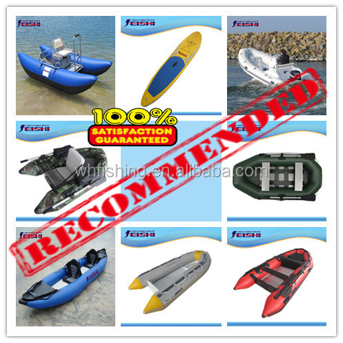 2015 Brand New 2.7m FLY-Inflatable River Float tube Fishing Pontoon Boat