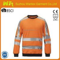 wholesale alibaba hot Safety shirt 100% polyester long sleeves safety work shirts clothing