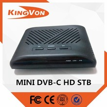 mini HD tv cable tv receiver from Conditional Access System fro DVB-C HD set top box