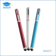Practical metal roller ball pen with touch screen for computer(4 colors choice)