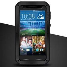 LOVEMEI 3-in-1 Shockproof underwater waterproof case for HTC Desire 820 with Straight Flange