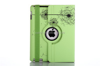 cheap popular customized 360 rotatable leather printing flip cover case for tablet