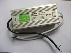 IP67 60W LED Waterproof Power Supply with CE FCC ROHS CCC certificate