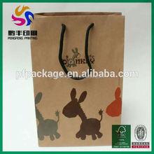 Hot sale customized paper bags flame retardant