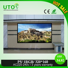 china p5 indoor for rental led display full sexy movies video with 3 years warranty
