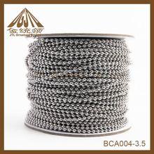 varios de metal de cobre cadena de la bola al por mayor de carrete