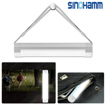 Portable Multi-Functional 4-Level Adjustable Brightness Led Lamp/Lantern/ Torch Rechargeable LED Flashlight manufacture