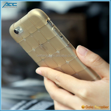 Stock! Soft TPU Square Case for iPhone 6s 6plus s With Hand Feeling