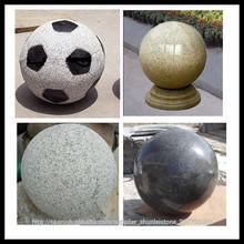 bola de granito para el jardín
