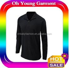2015 Men Gym Black Jacket Tight Fit Stretch Cotton T Shirt Round Neck Good Quality O Neck