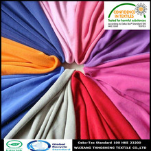 100% Recycled polyester 144F microfiber use for cloth and blanket anti pilling knitted polar fleece fabric