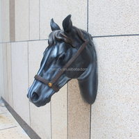 Wall decoration animal head resin horse sculpture