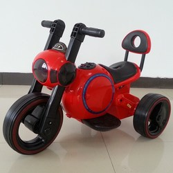 Hot selling Chinese three wheels motorcycle for kids with flash lights