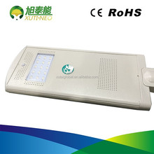 20w integrated motion sensor led solar street lights with safe and reliable operation