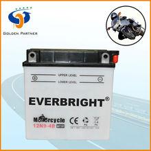 12N9-4B Lead Acid Motorcycle battery for vespa lml india