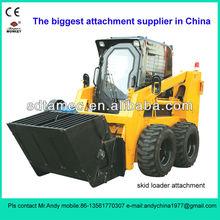 skid steer loader bucket mixer(skid loader attachment,bobcat attachment)