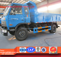 dongfeng 12tons tipper waste truck, 12tons dump rubbish truck price