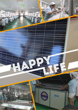 China top factory high efficient 200 watt poly solar panel