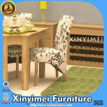 Fabric Seat And Metal Legs Banquet Dining Chair XYM-H70