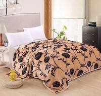 Polyester Mink Moving Throw Blanket