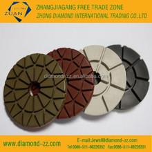 resin bond diamond floor polishing wheel (dry or wet)
