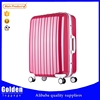 China factory fashion girls abs travel luggage beautiful travel abs luggage set with universal wheels