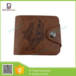 Competitive price excellent quality leather rid wallet for men