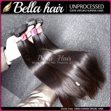 Most popular products skin weft 100 human hair ponytail silky straight hair 100% malaysian straight virgin hair