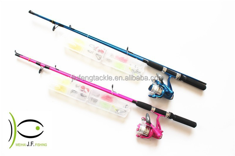 2016 wholesale light action fishing rod with led flashing for Cheap fishing rods and reels combo