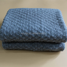 Vison et doux bébé modèles de tricot couverture
