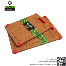 FDA Approval Cooking Tool Silicone Bamboo Chopping Blocks