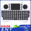 2.4GHz I8 Wireless Keyboard with Built in Mouse Pad