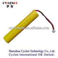 China Nickel Cadmium rechargeable battery 3.6v 5200mah for solor light or power tool