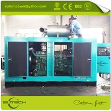 1000KVA alternator generator with Mitsubishi diesel generator transfer switch