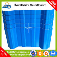Widely used 2 layers pvc roof edge tile