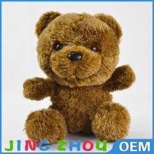 stuffed brown teddy ,teddy bear plush brown 20cm,plush stuffed teddy bear