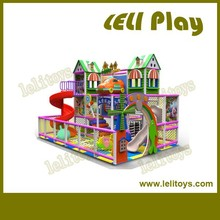 LL-I23 New Design Castle Style Indoor Playground Equipment Prices