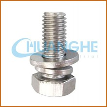 made in china stainless steel f53 bolt nut washer bolts and nuts manufacturer
