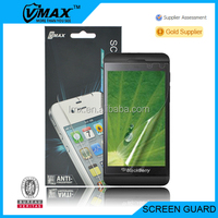 Matte touch screen protector film for Blackberry z10 oem/odm(Anti-Fingerprint)