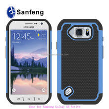 High Quality Manufacture Price Cell Phone Cases Bags For Galaxy S6 Active Ballistic Case Cover For Samsung G890
