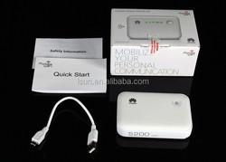 Brand new E5730S, 100% unlocked lan router 3G wireless/fixed line 3G router wireless hotspot + 5200mAh power bank