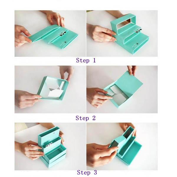 Как сделать органайзер своими руками из бумаги и коробки