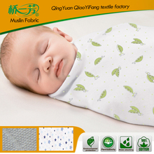 Baby Muslin Swaddle Blanket Wrap Diaper100% Organic Cotton Super Soft 47 Inches Square