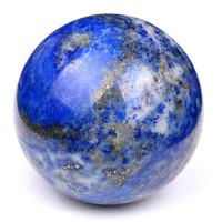 Natural semi-precious stone ball lapis lazuli spheres