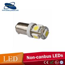 Interior light ba9s 5smd 5050 auto led lamp