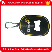 Promotional gift cheap bulk keyring beer bottle opener ring